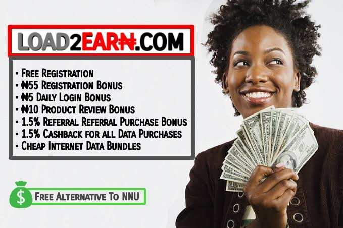 Load2Earn Income Programme: Free Alternative to NNU Income Programme